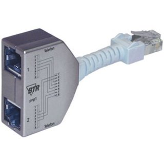 Metz Cable-sharing-Adapter Beleg. ISDN/ISDN (VPE=2 Stück)