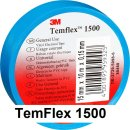 3M Isolierband 15mm x 10m TemFlex 1500 blau
